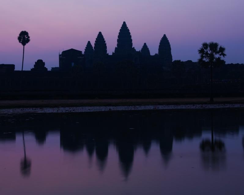 Mellow Sunrise at Angkor Wat