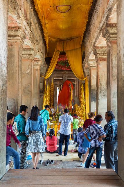 Prayer Room in Angkor Wat