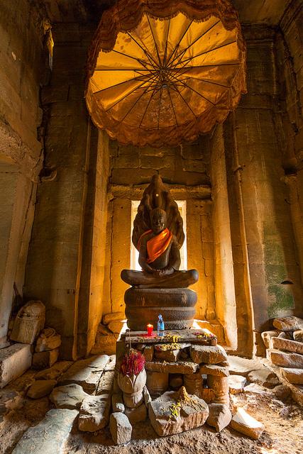 Prayer Room Inside Bayon