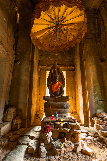 Prayer Room Inside Bayon