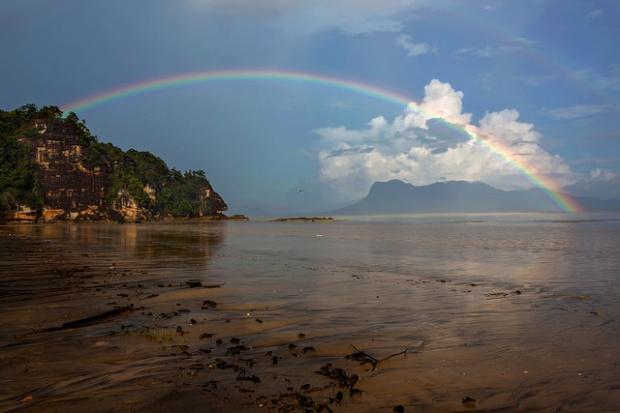 Rainbow at Bako