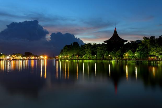 Sarawak River Sunset