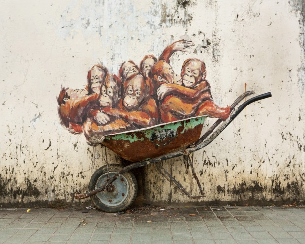 Street Art in Kuching