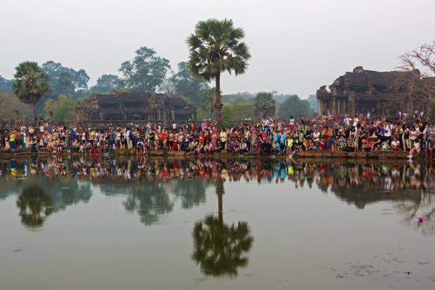 Sunrise Crowd at Angkor Wat