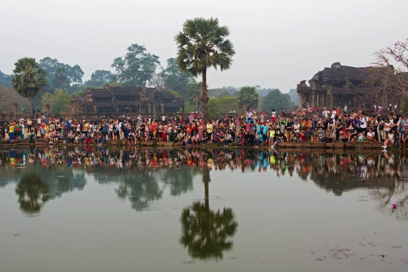Sunrise Crowd at Angkor Wat