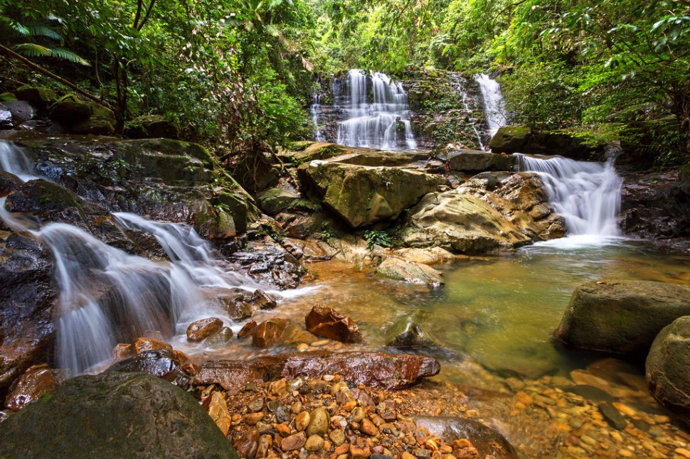 Waterfalls at Kubah