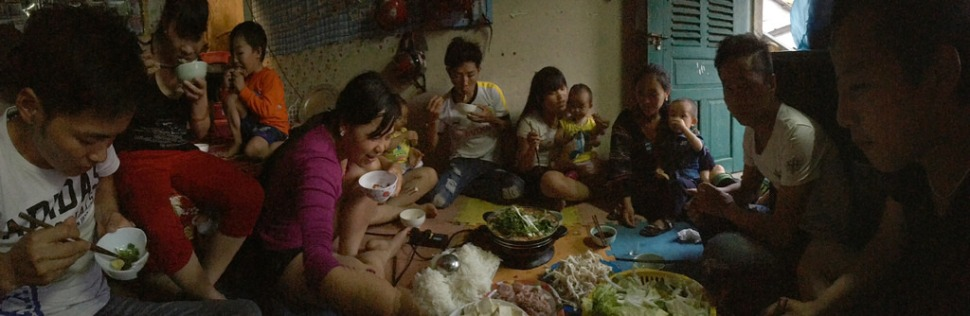 Dinner at Ge's Place