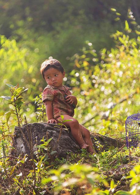 Little Boy Near Hau Thoa