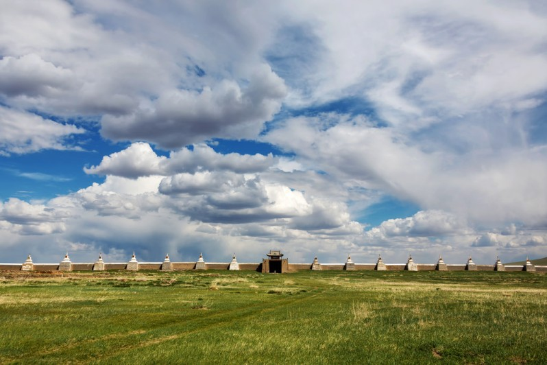 Clouds Over Erdene Zuu Khiid