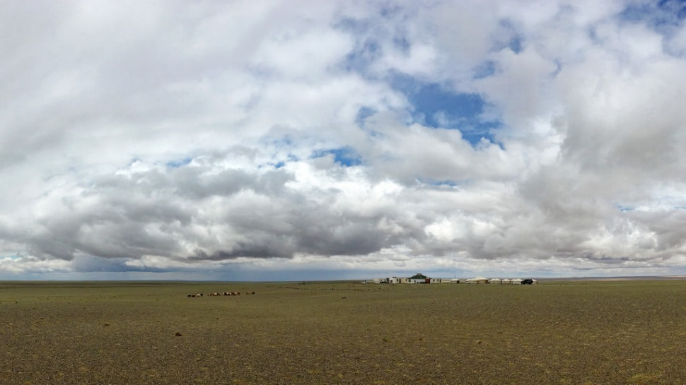 Clouds Over Ger Camp