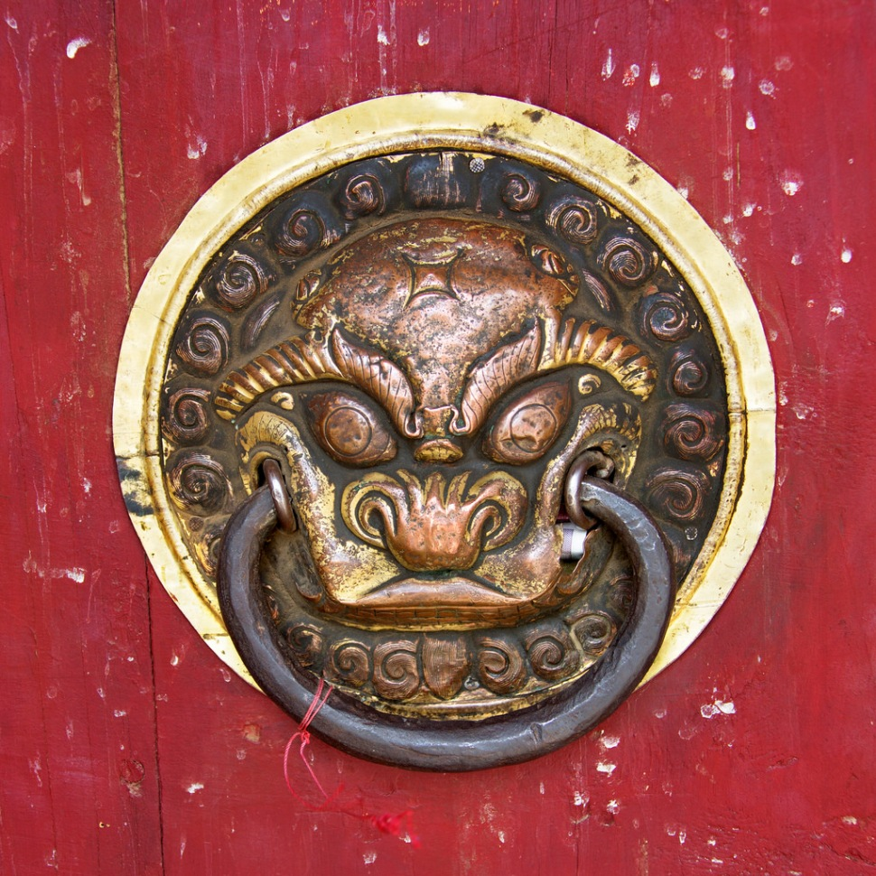 Gate Handle at Erdene Zuu Khiid