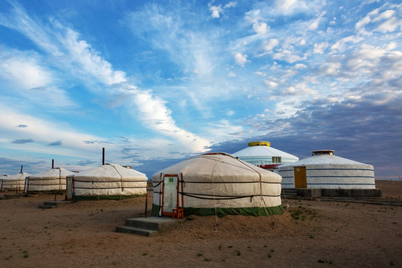 Ger Camp Near Shambhala