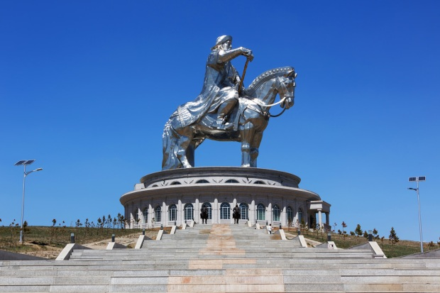 Giant Genghis Khan Statue