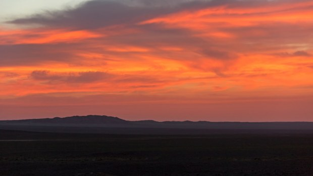 Gobi Sunrise Color