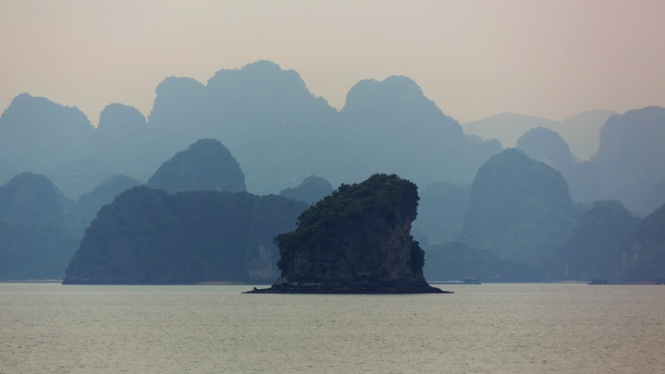 Halong Bay Morning Layers