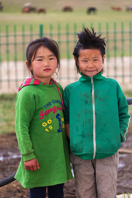Kids at Khustain