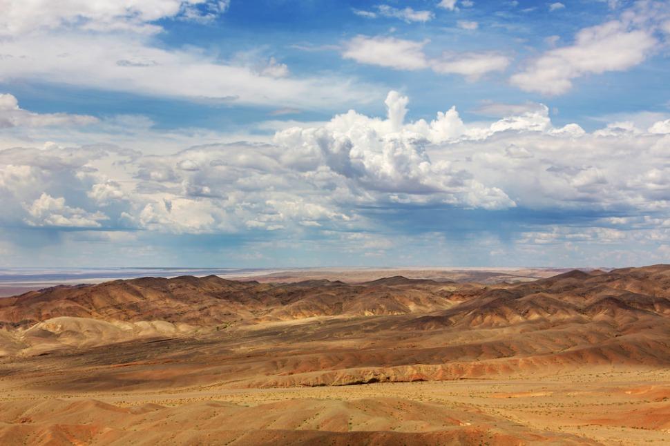 Landscape Near Bayanzurkh Uul
