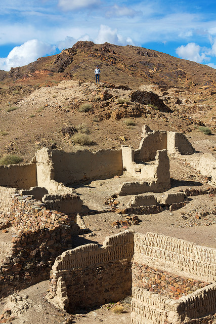 Marie at the Ruins of Ongiin Khiid