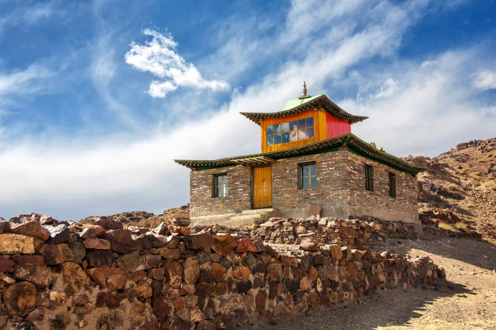 New Temple at Ongiin Khiid