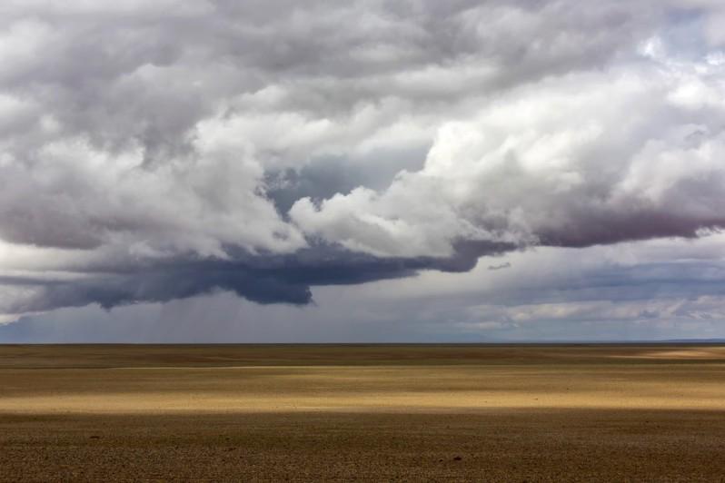 Rain Clouds Near the Flaming Cliffs