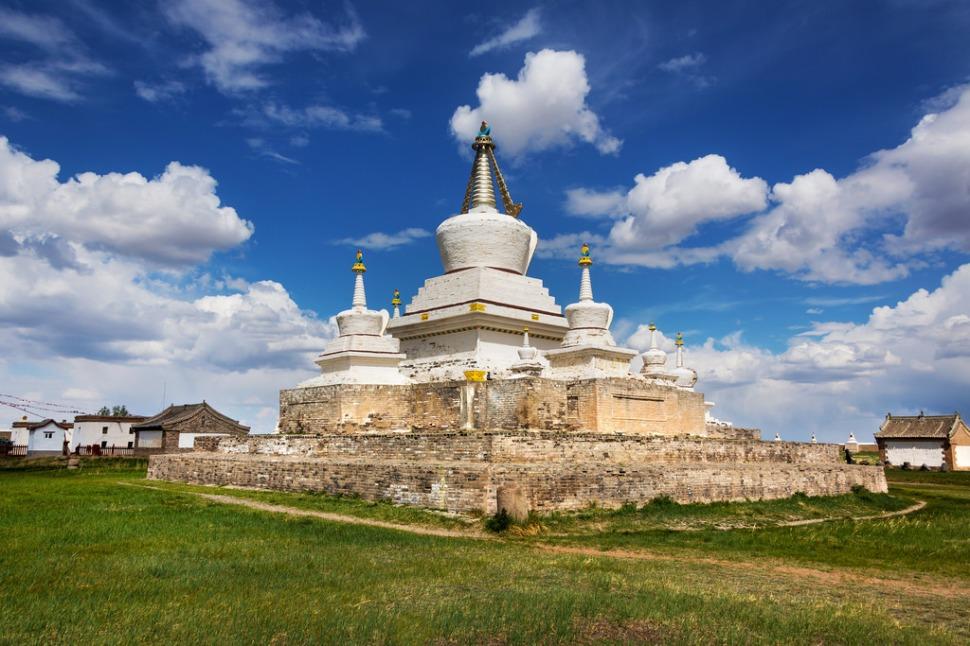 Stupa at Erdene Zuu Khiid