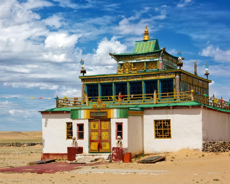 Temple at Khamaryn Khiid
