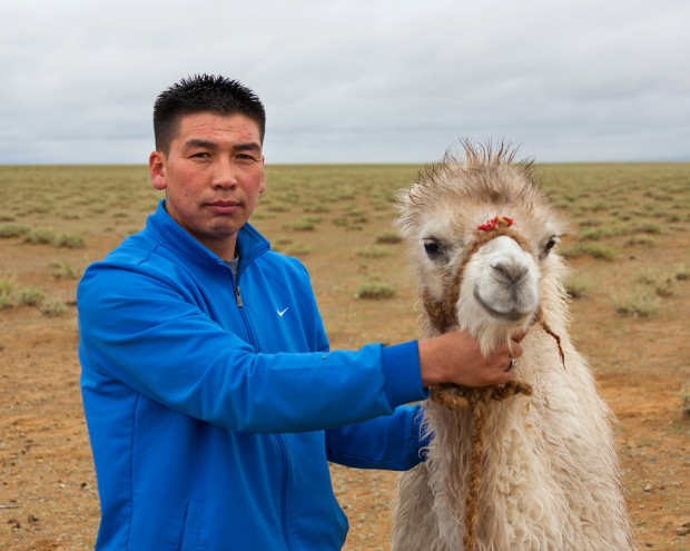 Tog Toh with a Baby Camel