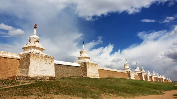 Walls of Erdene Zuu Khiid