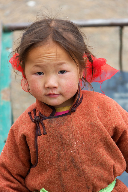 Young Mongolian Girl