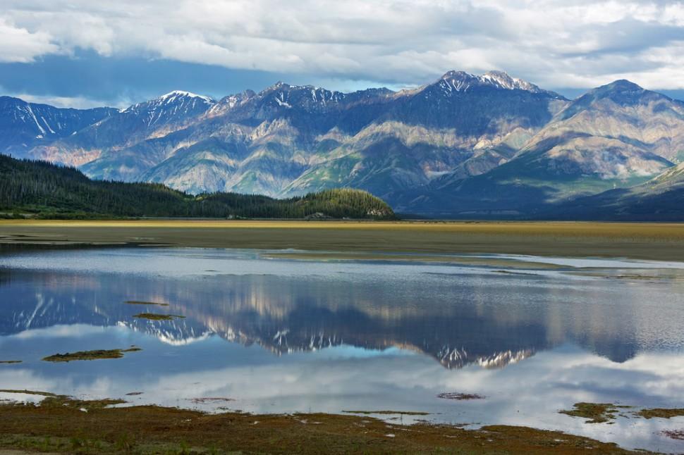 Alaska Highway Landscape