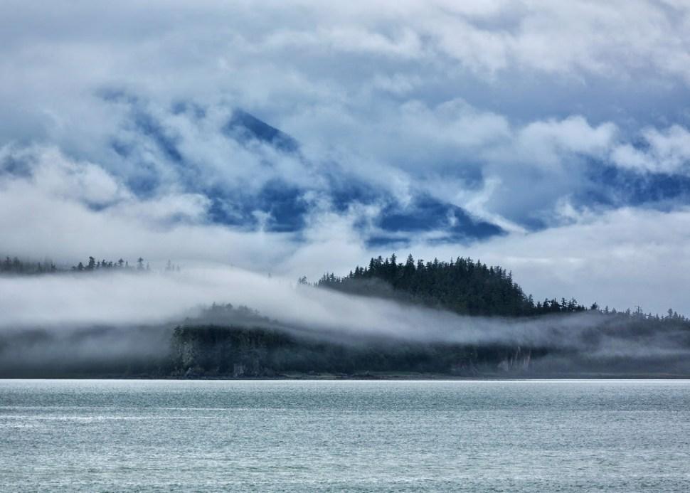 Alaskan Coast Near Gustavus