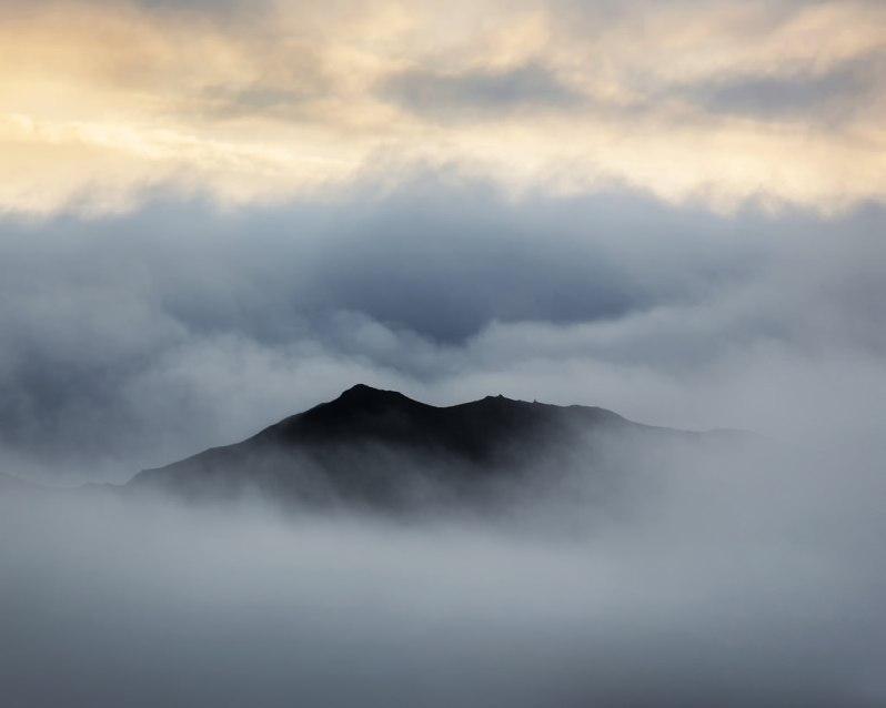 Cloudy Morning Near Denali