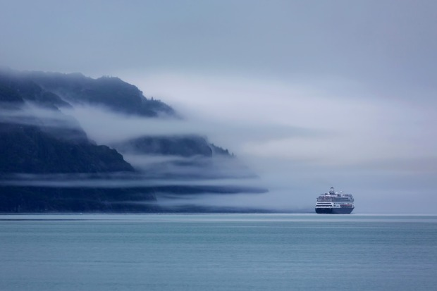 Cruise Ship at Glacier Bay National Park