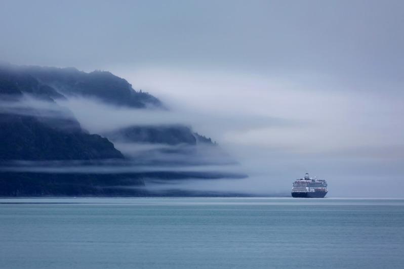 Cruise Ship at Glacier Bay National Park
