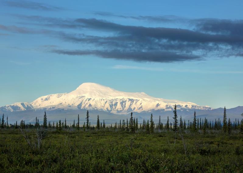 Early Light on Wrangell St Elias National Park