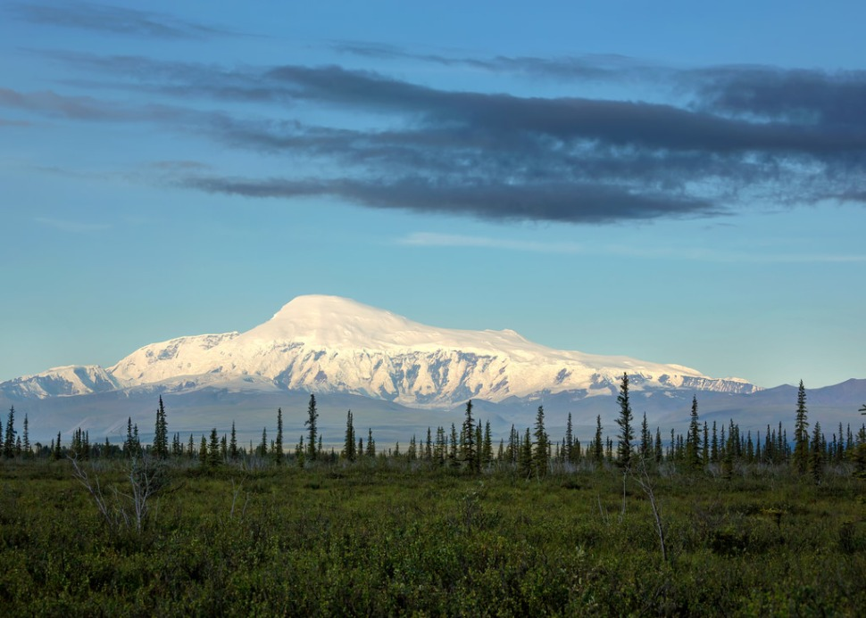 Early Light on Wrangell St Elias National Park