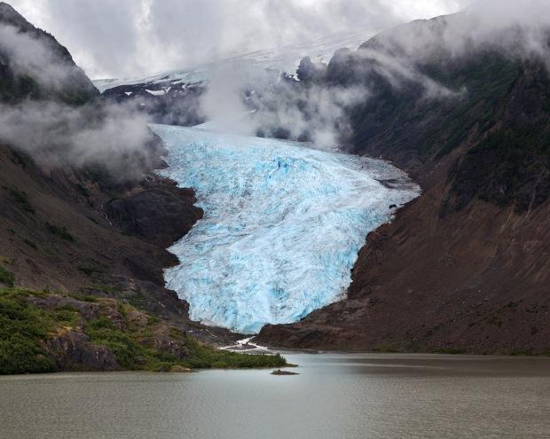 Glacier Along Highway 37A