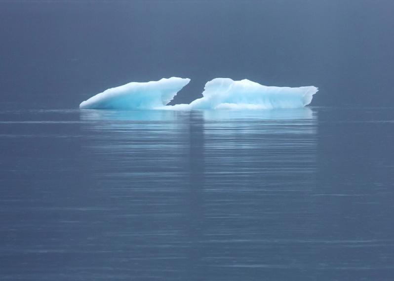 Glacier Ice at Glacier Bay NP