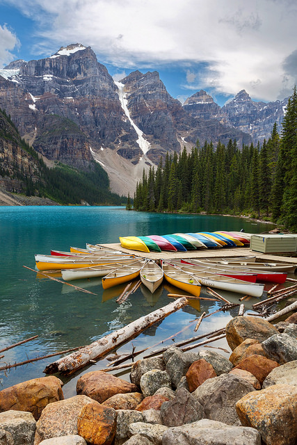 Moraine Lake Portrait