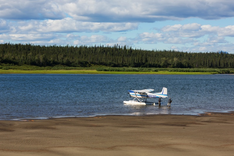 Our Plane at Kobuk Valley NP
