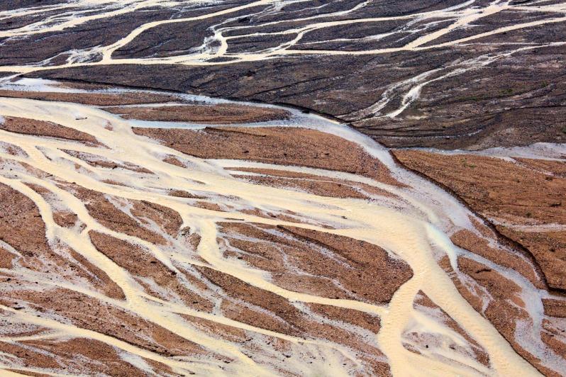 Two-tone Runoff at Denali