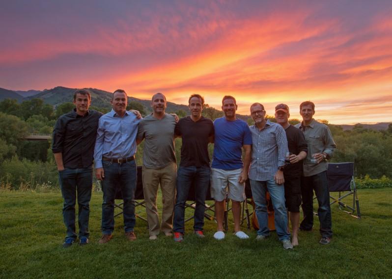 Aspen Sunset Full Group