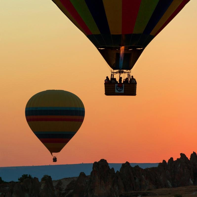 Balloons before Dawn