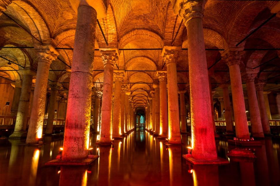 Basilica Cistern Reflection