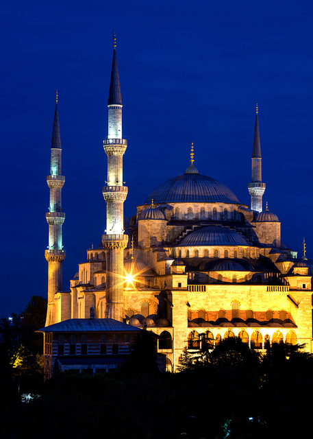 Blue Mosque Blue Hour