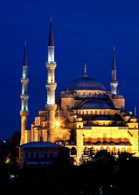 Blue Mosque Blue Hour