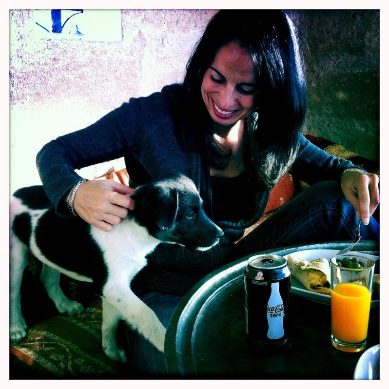 Breakfast with Panda