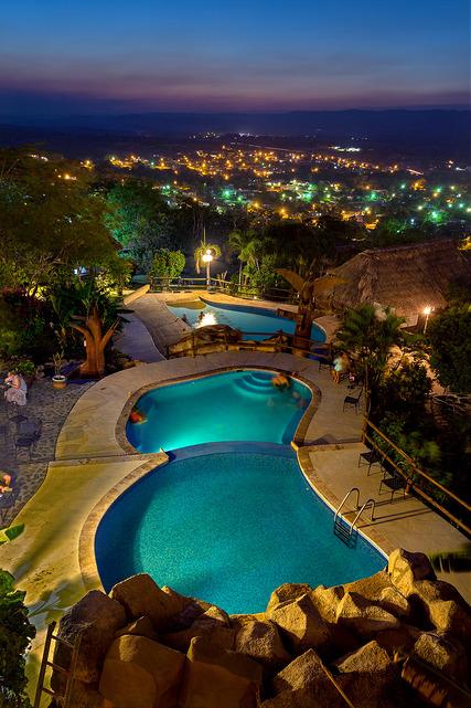 cahal-pech-pool-after-sunset