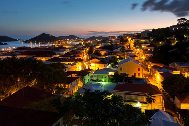 charlotte-amalie-after-sunset