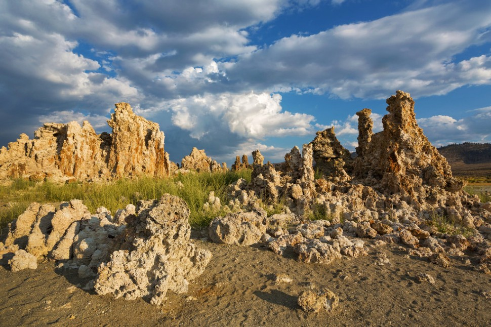 Dry Tufas at Mono Lake
